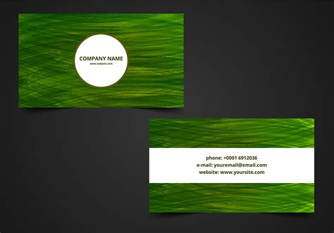 free visiting card free vector visiting card background free