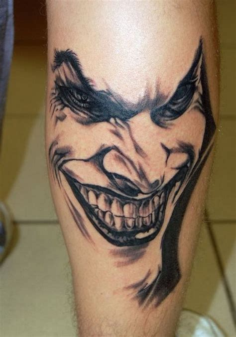 joker tattoo designs black white joker images designs