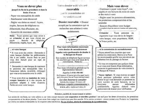 Exemple De Lettre Surendettement Votre Dossier De Surendettement Est Recevable Et Maintenant Dossier De Surendettement
