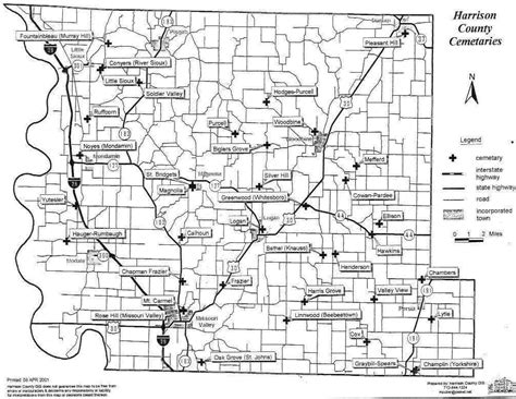 Harrison County Records Harrison County Iowa Map My