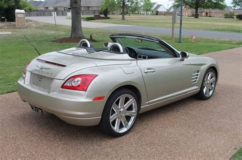 2006 chrysler crossfire 2006 chrysler crossfire limited convertible