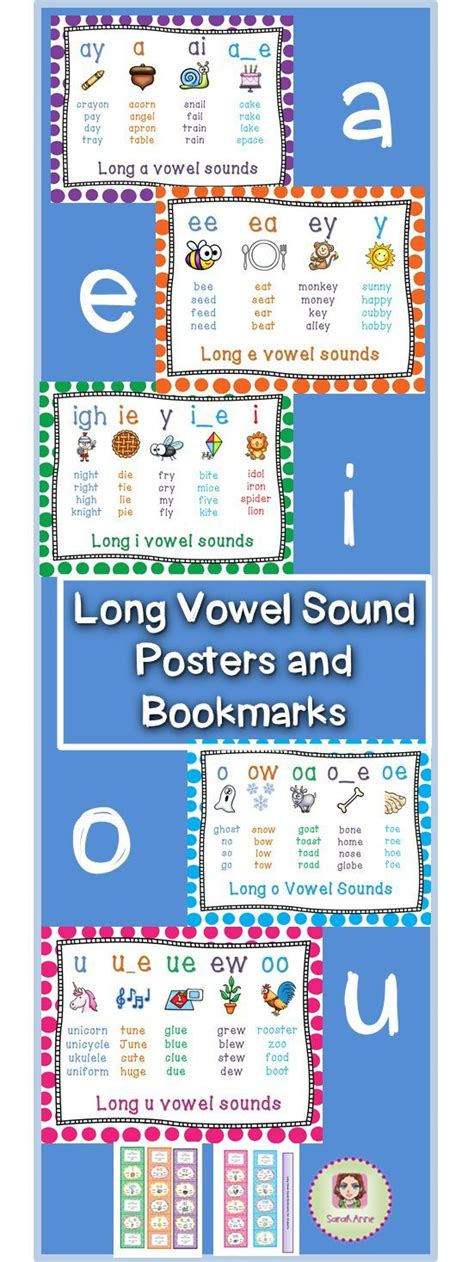 spelling pattern in words with long a sound 120 best images about long vowels on pinterest