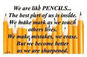 Pencil Quotes And Sayings. QuotesGram