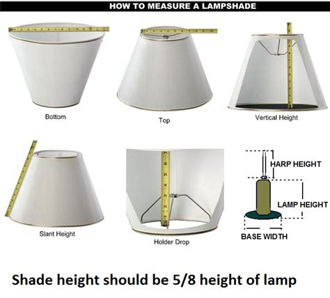 How To Measure L For Shade Size by Cowboy Silhouette Painted Leather Lshades