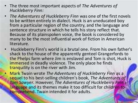 adventures of huckleberry finn themes essay 5 paragraph essay on huckleberry finn