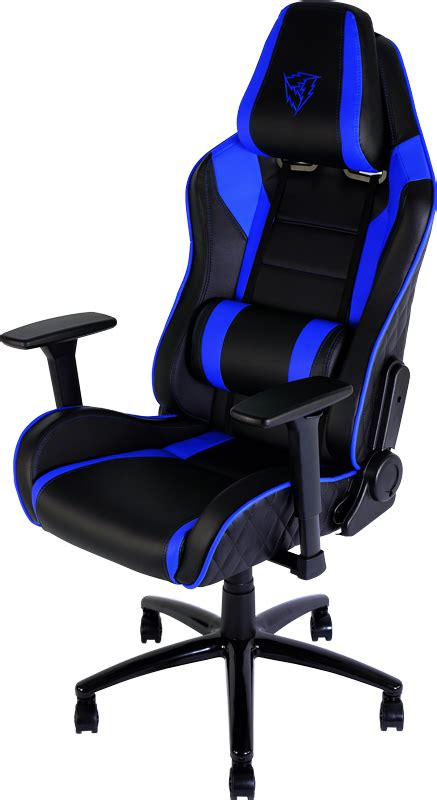 Gaming Furniture by Thunderx3 Gaming Chair Tgc30 Bb Blue Black Tgc30 Bb Centre Best Pc Hardware Prices