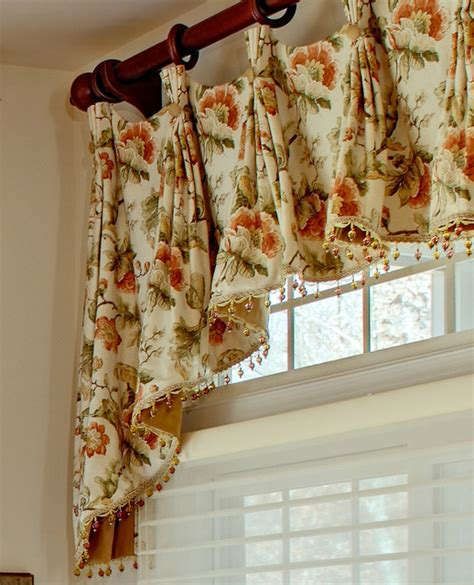 Houzz Kitchen Curtains Valances Hardware And Trim Traditional Other Metro By Marina Klima Goldberg Klima Design