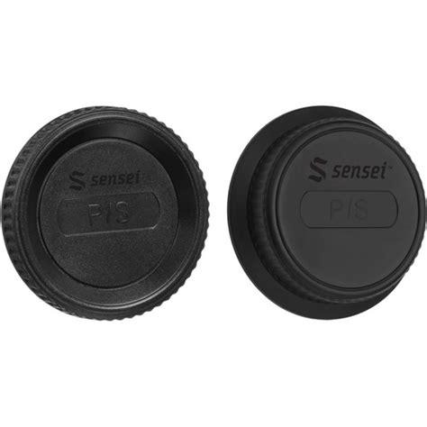 Rear Cap Pentax sensei cap and rear lens cap kit for pentax brlck pxk b h