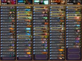 shaman deck hearthstone hearthstone news all decklists from seatstory cup