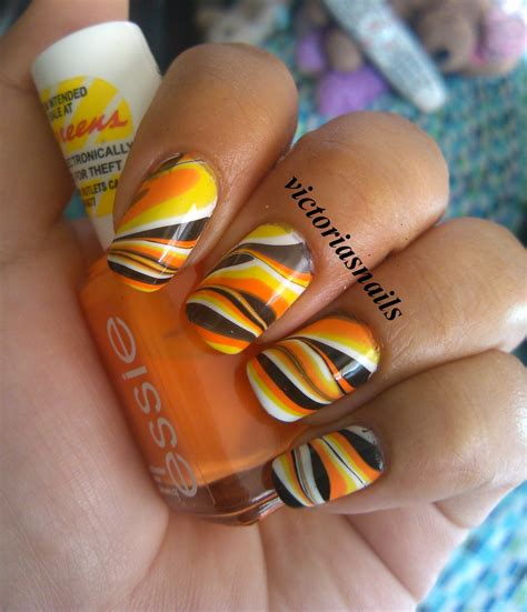 october nail color s nails water marble i october