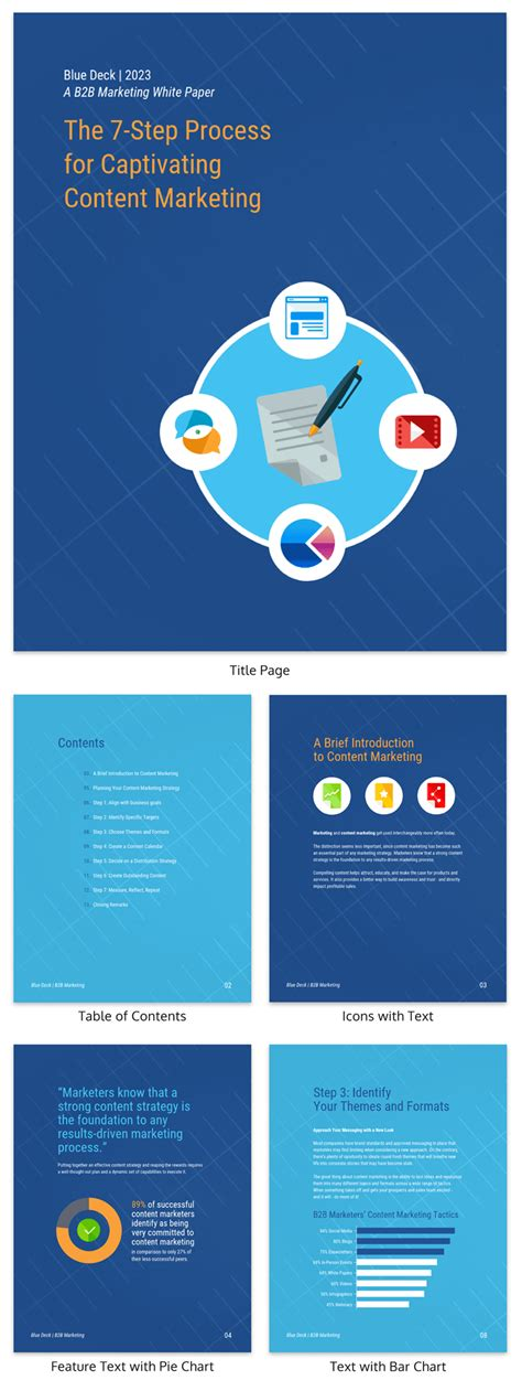 marketing white paper template 20 page turning white paper exles design guide