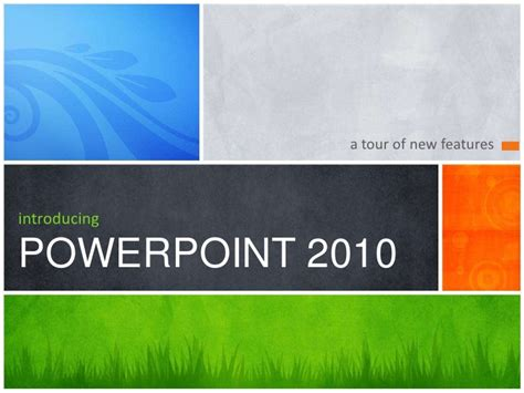 powerpoint template microsoft introducing ppt 2010