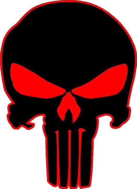 Jeep Skull Sticker Punisher Skull Vinyl Decal Sticker Vehicle Window
