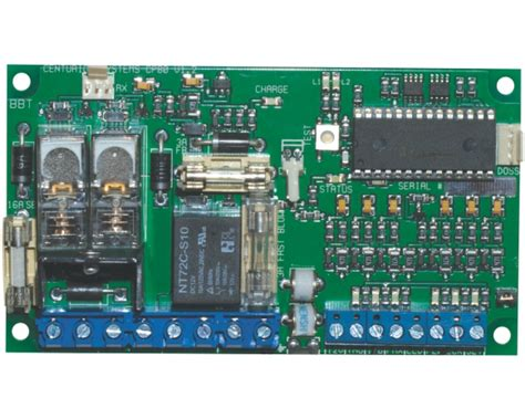 cp80 dc motor controller d5 pcb radiant security