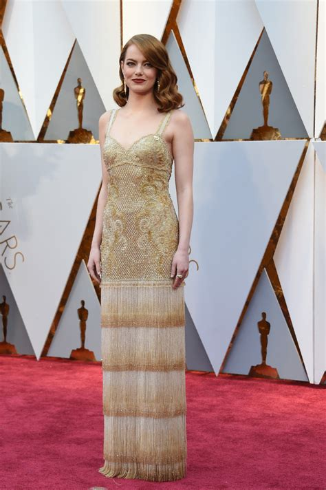 The Oscars Liveblog At Catwalk Shiny Shiny by In A Flapper Inspired Gown The Most