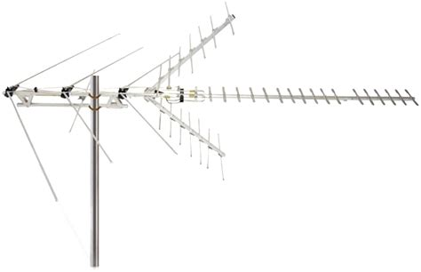 new channel master cm 2020 uhf high vhf hdtv antenna 60 mile range ebay