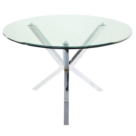 glass top jacks dining center table gueridon for sale at
