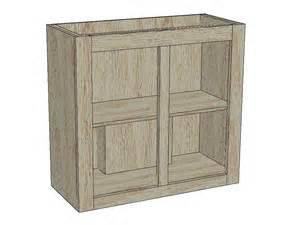Cupboard Free Woodworking Plan Diy Wood Cabinet Plans