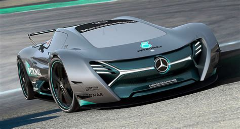mercedes elk mercedes elk fits the future ev supercar bill