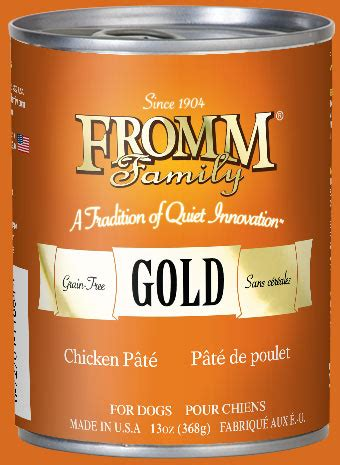 can dogs chicken broth fromm gold chicken pate 13 oz the pet palace