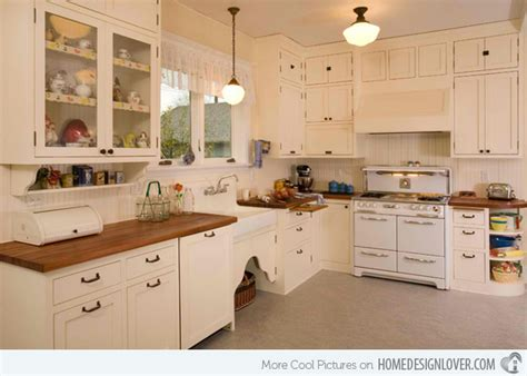 kitchen design ideas old home 15 wonderfully made vintage kitchen designs fox home design