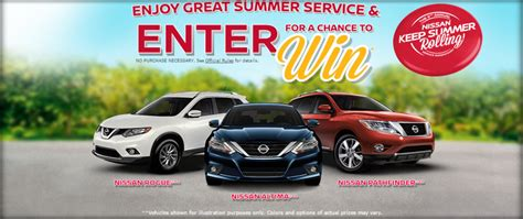 Nissan Summer Sweepstakes - new nissan and summer service sweepstakes