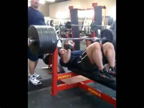 ryan kennelly bench press best raw bench press videos ever doovi
