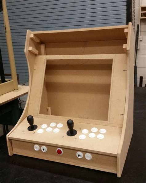 Mame Tabletop Cabinet Plans by Plans For Building A Bartop Arcade System Using A