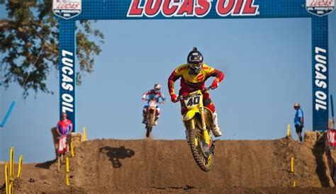 pro motocross com peick and grab top 10 finishes at hangtown