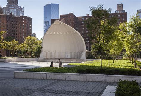 Landscape Architect York Damrosch Park Restoration New York Ny Usa Mnla