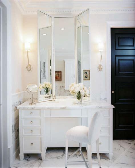 Makeup Vanity Master Bathroom Sketch42 The From