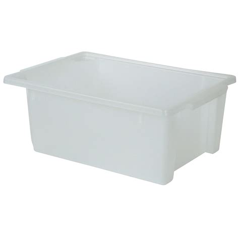 homeleisure storemax stacking tub 24l bunnings warehouse