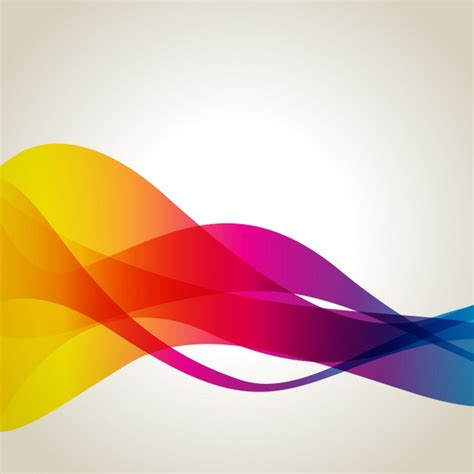 color waves colour spectrum vectors photos and psd files free