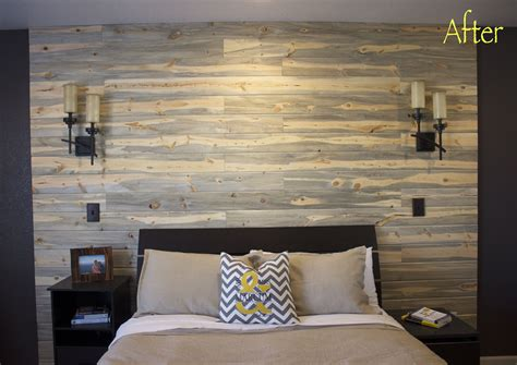 how to build a bedroom wall pallets or planks oh my how to build a wall in 1 day