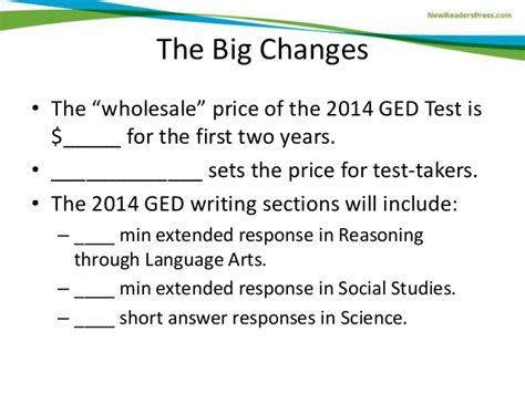 ged test sections exciting strategies technology to prep learners for the