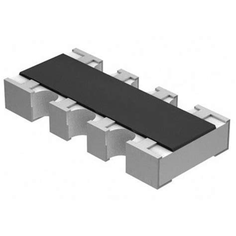 panasonic resistor array exb 38v101jv panasonic resistor thick array 100 ohm 5 177 200ppm 176 c isolated 8 pin 1206 4