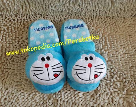 02848 Sandal Kamar Doraemon Sandal Doraemon jual doraemon sancu sandal lucu boneka rumah kamar bulu