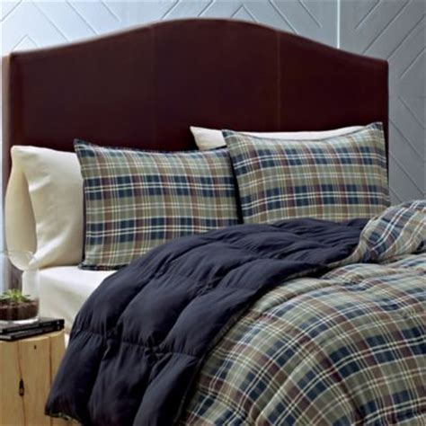 eddie bauer rugged plaid comforter set buy full plaid comforter set plaid from bed bath beyond