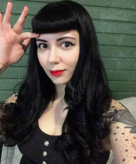 old goth bangs hairstyle 455 best gothabilly and psychobilly 1 images on pinterest