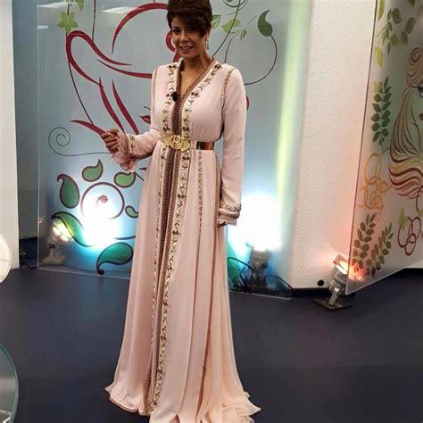 Modele Caftan 2018 caftan 2018 tendances hiver robes marocaines de luxe