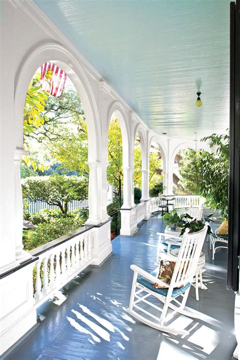 charleston home porch southern living the south s prettiest porches southern living