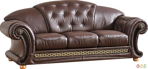 Versace Leather Sofa Versace Leather Sofa Versace Beige Sofa Esf Furniture