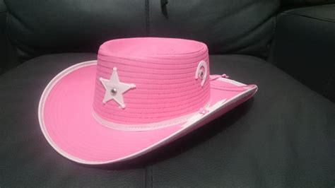 como hacer sombreros de vaqueros para ninas sombrero rosa vaquero sheriff disfraz vaquerita fiesta