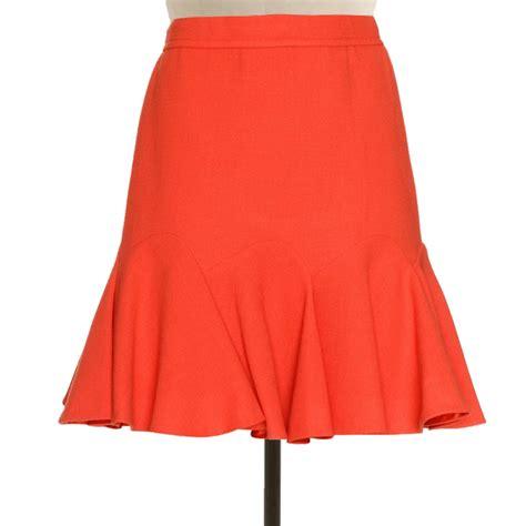 plus size burnt orange godet skirt elizabeth s custom skirts