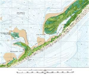 map of st george island florida george island state park 1982