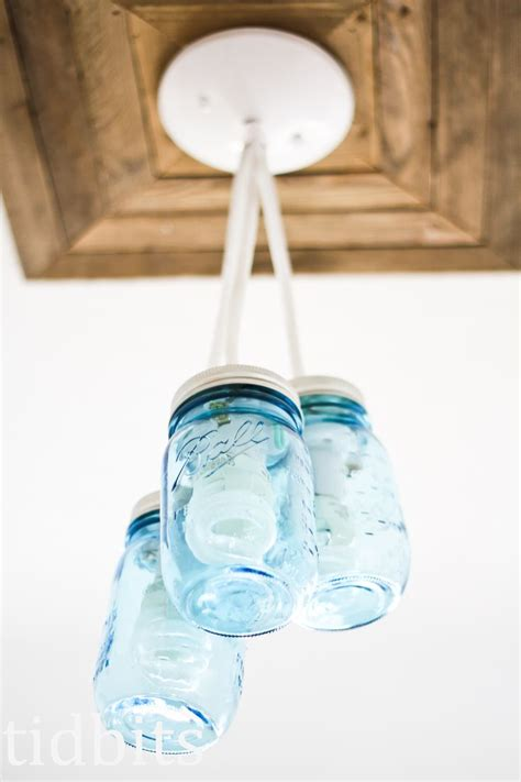 canning jar light fixture entry space makeover masons summer and canning jar lights