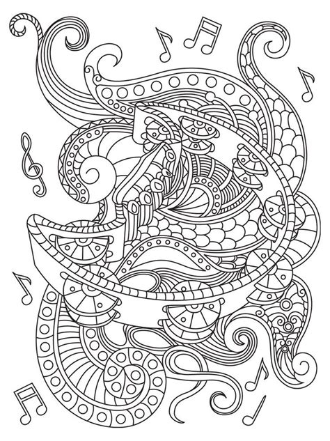 180 best coloring music images on pinterest coloring