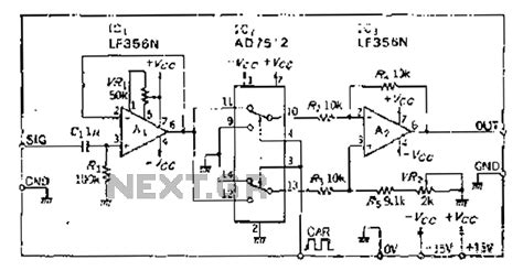 analog switch integrated circuit electronic circuit page 19 next gr