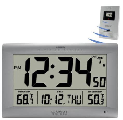 digital wall clock amazon la crosse technology 513 1311ot jumbo atomic digital wall