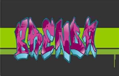 imagenes k digan te amo brenda graffiti de brenda imagui